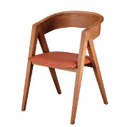 The V 唯V餐椅╱自然色