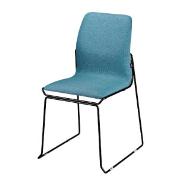 Match 合契餐椅╱酒紅色座墊x黑色鐵腳
