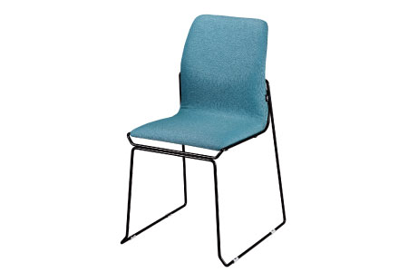 Match 合契餐椅╱酒紅色座墊x黑色鐵腳/酒紅色座墊x黑色鐵腳