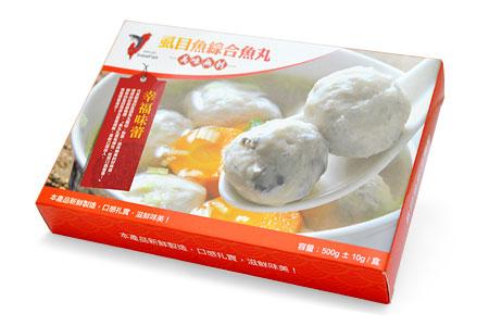 【府城館】虱目魚綜合丸(250g*2份/盒)