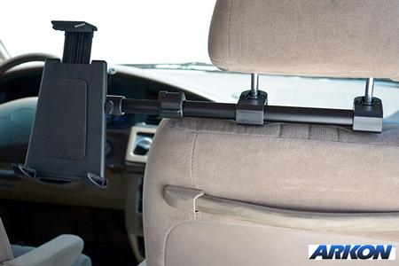 平板電腦車後座頭枕支架組