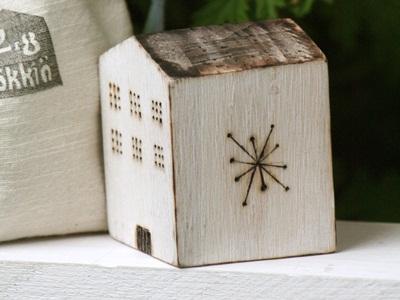 mokkia手工打造小木屋