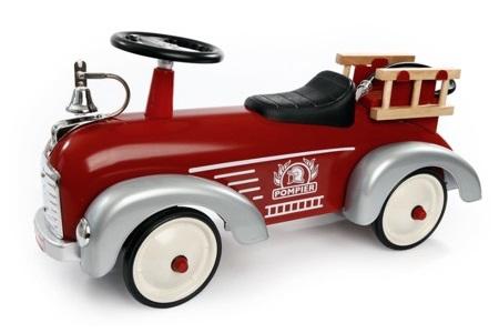 法國 Baghera 消防小跑車(禮盒版)