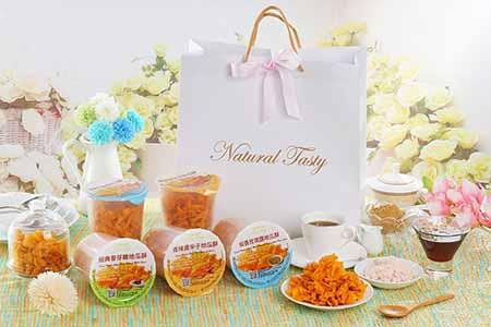 【預購】自然食尚Natural Tasty手工地瓜酥禮盒(8罐入) 訂單成立後15天出貨/8罐入