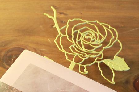 【Desk+1】玫瑰書籤(一朵裝)*3盒