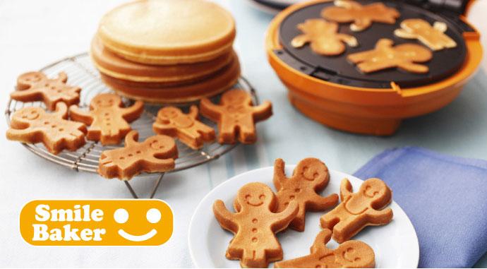 recolte日本麗克特Smile Baker微笑鬆餅機