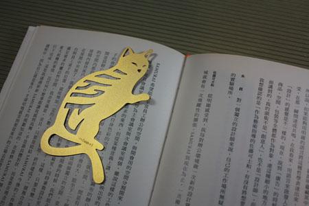 【Desk+1】貓書籤 3入