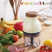 recolte 日本麗克特 Quatre 時尚小型冰沙食物調理機/淡黃