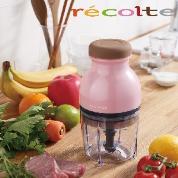 recolte 日本麗克特 Quatre 時尚小型冰沙食物調理機/粉紅