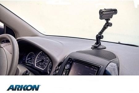相機/行車紀錄器 長臂矽膠吸盤雲台組 (Arkon CMP198T)