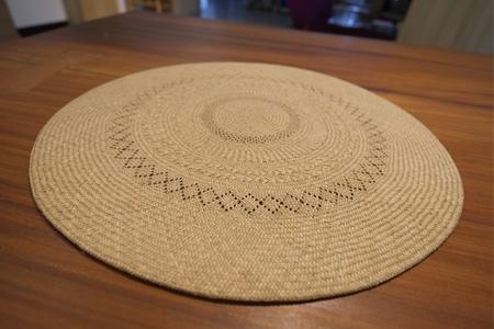 藺草編織手工雙層坐墊