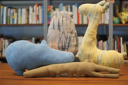 動物造型抱枕(河馬)