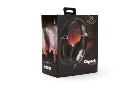 Klipsch STATUS 耳罩式耳機/黑色