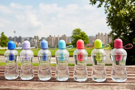 美國bobble carry cap【環保純喝水】濾水瓶x2 + 濾芯x4