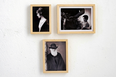 MIT手工實木相框 3框組(3色可選)/胡桃木