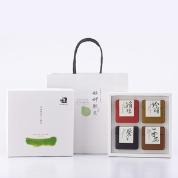 【艋舺肥皂】四季禮盒(循環皂+珍珠皂+紫草皂+平安皂)