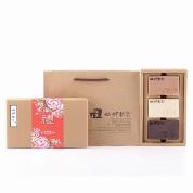 【艋舺肥皂】傳統紅花禮盒(循環皂+珍珠皂+紫草皂)