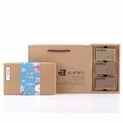 【艋舺肥皂】傳統藍花禮盒(清爽皂+平安皂+靜心皂)