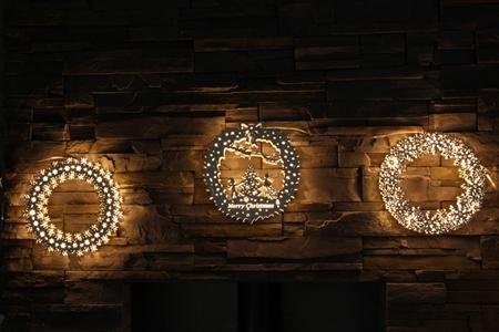 Deer Light 北歐風格燈圈/北歐聖誕圈