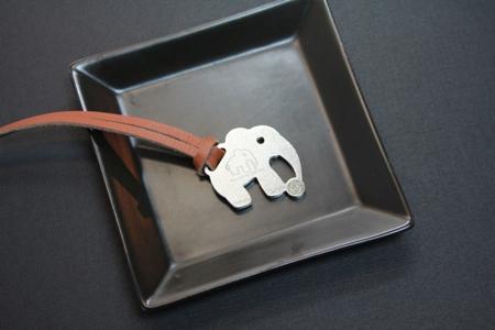 【Desk+1】動物莊園小鑰匙圈吊飾-非洲系列2入