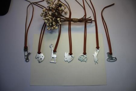 【Desk+1】動物莊園小鑰匙圈吊飾-可愛動物系列2入
