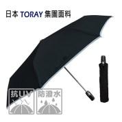 快乾自動傘 日本東麗-型男皮革自動傘-黃色