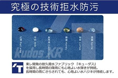 快乾自動傘 日本東麗-型男皮革自動傘-寶藍色/寶藍色
