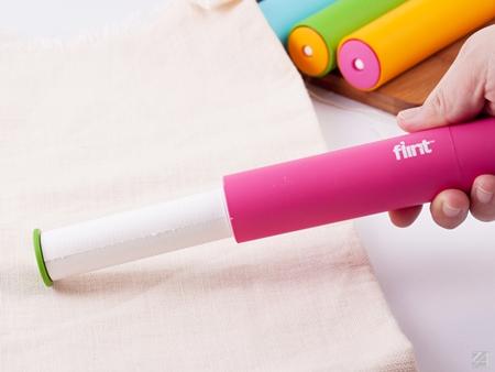 毛絮滾輪 lint Roller 2入+補充包1組/亮橙x2