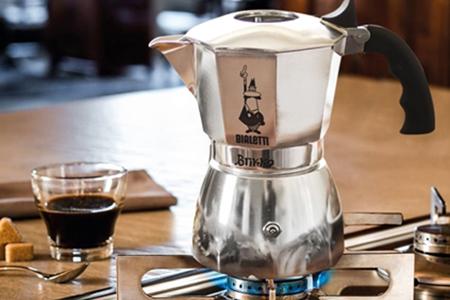 Bialetti 加壓摩卡壺2杯份/摩卡壺加購咖啡粉
