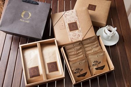 手作文創咖啡典雅禮盒組- OmMaNi Cafe/耶加雪夫