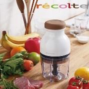 recolte 日本麗克特 Quatre 時尚小型冰沙食物調理機/白