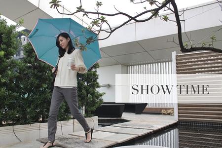 【Make Shine】速乾自動反向傘(東麗酒伊面料)6色任選/摩卡金