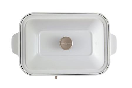 日式多功能烹調烤爐-珍珠白