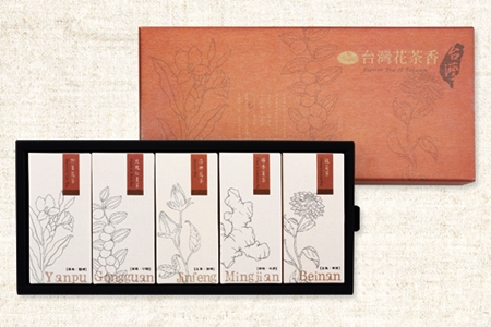 曼寧台灣花茶香禮盒