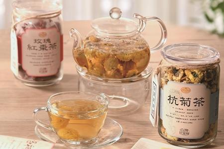曼寧台灣花茶禮盒