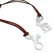 【Desk+1】動物莊園鑰匙圈吊飾-森林跑者