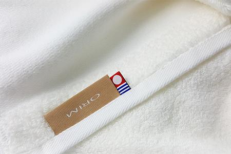 ORIM Mayu 歐規奢華頂級大毛巾毯/百合白