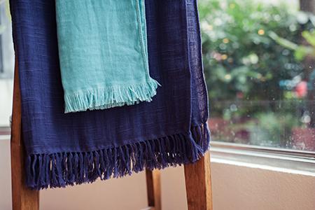 宮崎今治 有機棉抗UV 圍巾/披巾(47色可任選,請由備註欄填寫色號)