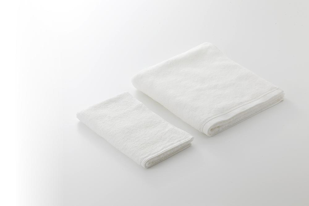 佐藤可士和感動的白毛巾-臉巾(兩入組)