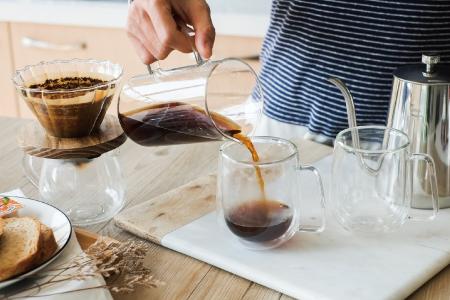 生活食器系列-玻璃咖啡沖泡組