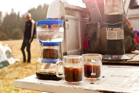 冰滴冷泡咖啡萃取壺-黑色/黑色