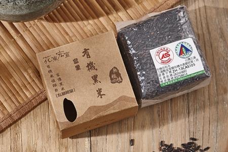 富里無糯性有機黑米300g*10盒/10盒組