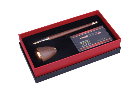 SKB尊爵系列檯筆鋼筆禮盒組(鍍黃金)【JH-6050】