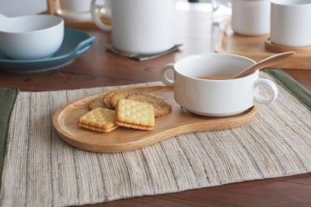 Linkife 早餐托盤組:雙耳湯碗