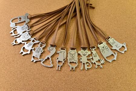 十二生肖鑰匙圈吊飾2入(請於備註欄填寫樣式)