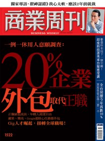 20%企業 外包取代正職