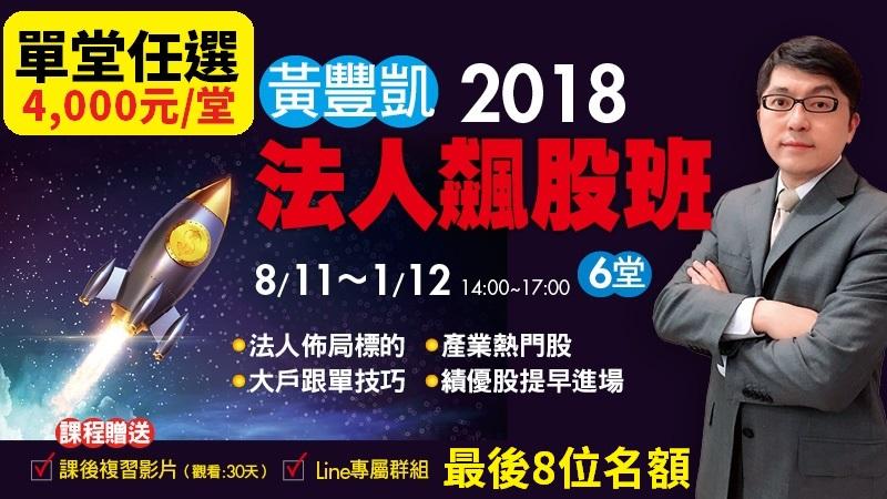 黃豐凱法人飆股班【單堂】